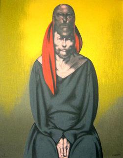 San Santo 1996 Limited Edition Print by Rafael Coronel