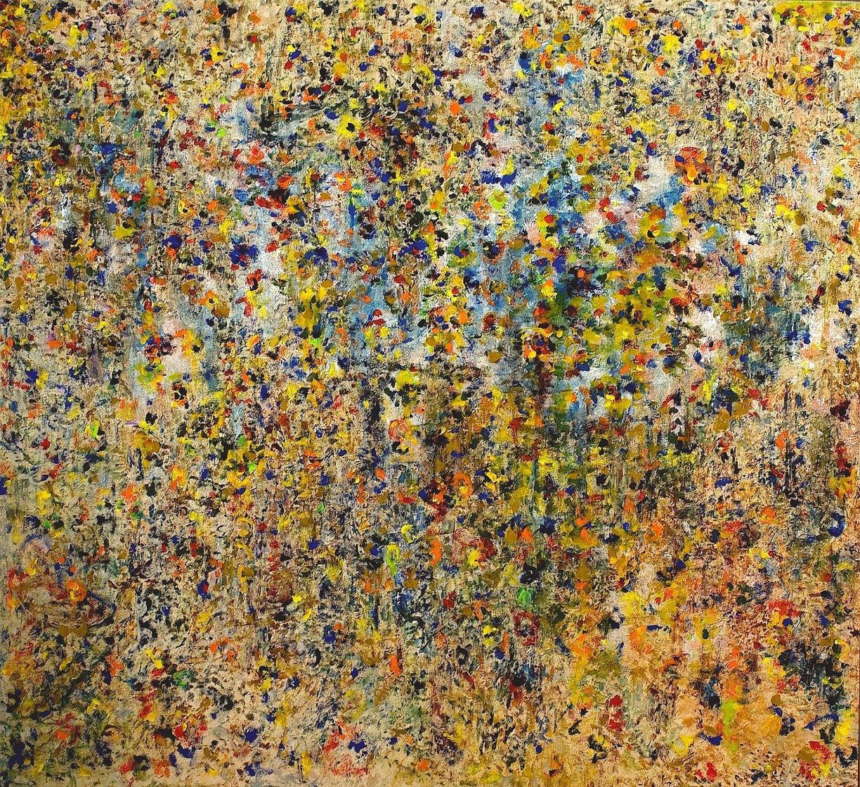 Symphony 2015 67x71 Super Huge Original Painting by Chitra Ramanathan
