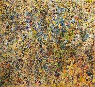 Symphony 2015 67x71 Super Huge Original Painting by Chitra Ramanathan - 0
