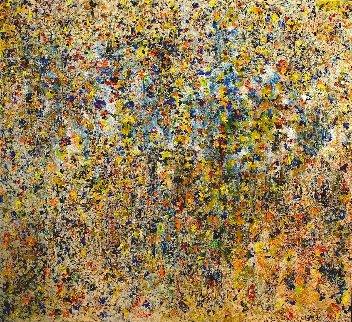 Symphony 2015 67x71 Original Painting - Chitra Ramanathan