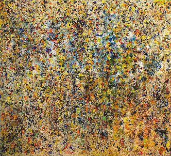 Symphony 2015 67x71 Huge Original Painting - Chitra Ramanathan