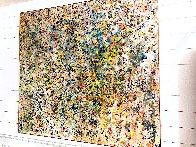Symphony 2015 67x71 Super Huge Original Painting by Chitra Ramanathan - 1