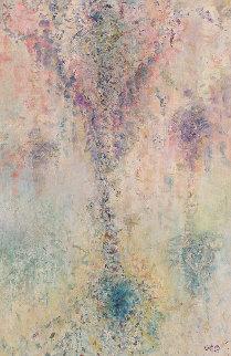 Ocean Melodies 53x48 Original Painting - Chitra Ramanathan
