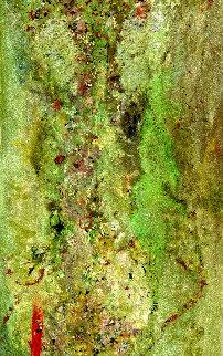 Euphoria 2020 67x39 Original Painting - Chitra Ramanathan