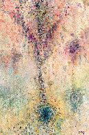Melic Profusion - Ocean Melodies 2010 67x43 Super Huge Original Painting by Chitra Ramanathan - 0