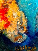 A Confluence 2020 47x37 Huge Original Painting by Chitra Ramanathan - 2