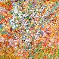 Melody of Seasons 2021 67x54 Super Huge Original Painting by Chitra Ramanathan - 1
