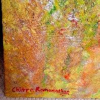 Melody of Seasons 2021 67x54 Super Huge Original Painting by Chitra Ramanathan - 2