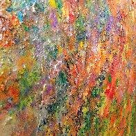 Melody of Seasons 2021 67x54 Super Huge Original Painting by Chitra Ramanathan - 4