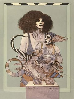 Endangered Species 1981 Limited Edition Print by Ramon Santiago