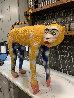 Untitled Monkey Sculpture 1989 35 in Sculpture by Ramon Santiago - 2