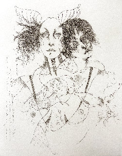 Untitled Lithograph 1976 Limited Edition Print - Ramon Santiago