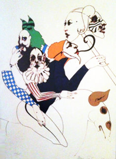 Untitled 1976 Limited Edition Print by Ramon Santiago