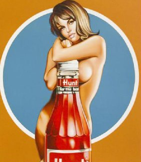 Hunt's 2013 Limited Edition Print by Melvin John Ramos