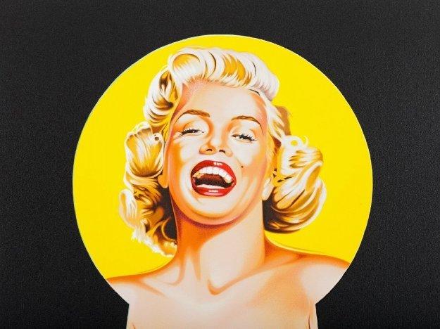 Peek a Boo Marilyn 3 2002  Limited Edition Print by Melvin John Ramos