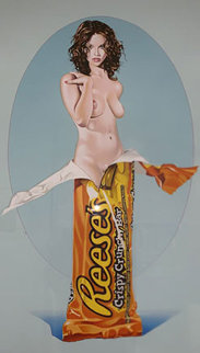 Reese's Rose AP 2008 Limited Edition Print - Melvin John Ramos