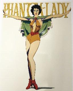 Phantom Lady (White) Limited Edition Print by Melvin John Ramos