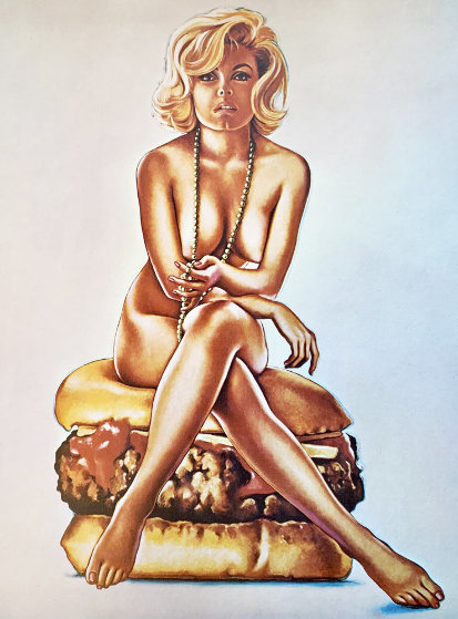 Virnaburger 1965 Limited Edition Print by Melvin John Ramos