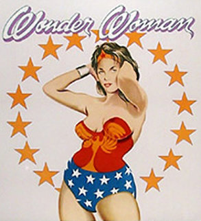 Wonder Woman 1979 Limited Edition Print - Melvin John Ramos