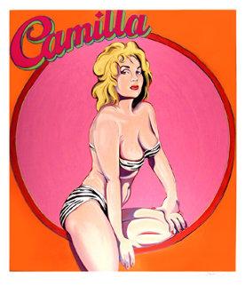 Camilla 1990 Limited Edition Print - Melvin John Ramos