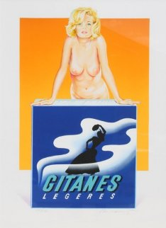 Gitanes 1999 Limited Edition Print - Melvin John Ramos