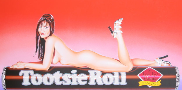 Tootsie Roll 2007 Limited Edition Print by Melvin John Ramos