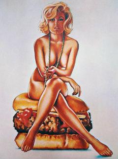 Verna Burger 1965 (early) Limited Edition Print by Melvin John Ramos