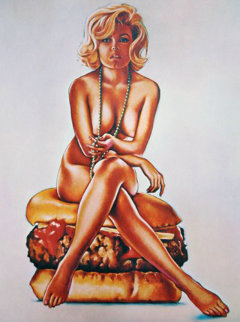 Verna Burger 1965 (early) Limited Edition Print - Melvin John Ramos