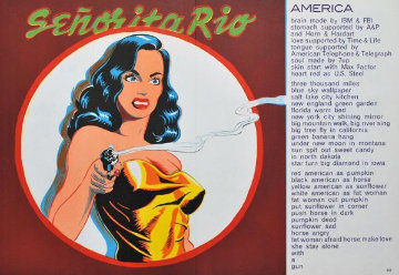 Senorita Rio, From 1 Cent Life 1963 Limited Edition Print - Melvin John Ramos
