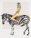 Zebra 1979 Limited Edition Print by Melvin John Ramos - 0
