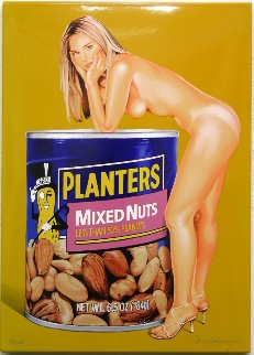 Mixed Nuts 2008 Limited Edition Print - Melvin John Ramos