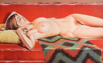 Navajo Nude 1974 Limited Edition Print - Melvin John Ramos
