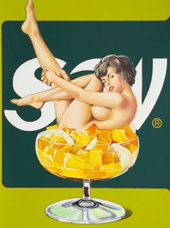 Miss Fruit Salad  1989 Limited Edition Print - Melvin John Ramos