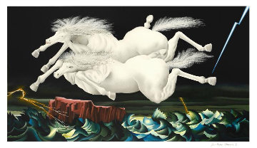 Arriving Together 2006 36x23 Huge Limited Edition Print - Jose Carlos Ramos