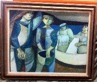 Povera Pesa 1978 39x47 Original Painting by Lucio Ranucci - 1