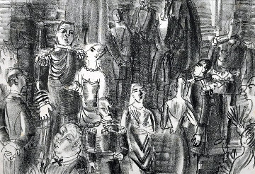 Le Bal Chez L'amiral  1925 HS Limited Edition Print - Raoul Dufy