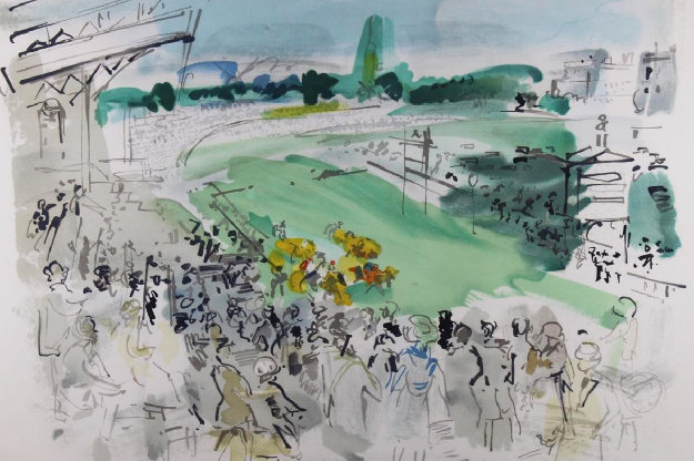 Courses à Deauville Limited Edition Print by Raoul Dufy