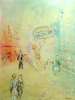 La Fil-de-feriste 1938 32x26  Original Painting - Raoul Dufy