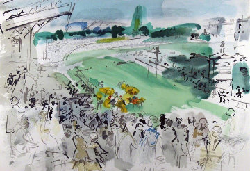 Courses a Deauville Limited Edition Print - Raoul Dufy