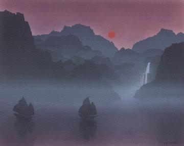 Passageway Watercolor 1988 15x19 Watercolor - Peter Rashford