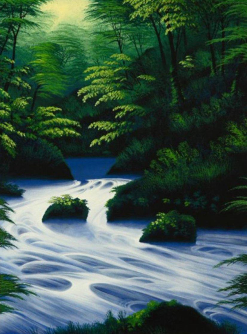 Evergreen Stream AP 2007 Limited Edition Print by Jon Rattenbury