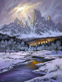 Sunlit Symphony  AP 2018 Limited Edition Print - Jon Rattenbury
