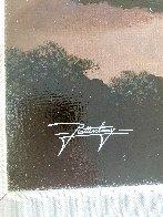 Silhouettes of Paradise 2012 26x44 Huge Original Painting by Jon Rattenbury - 2