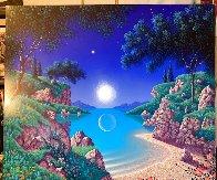 Bay of Dreams 1996 30x35  Original Painting by Jon Rattenbury - 2