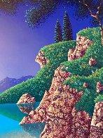 Bay of Dreams 1996 30x35  Original Painting by Jon Rattenbury - 4