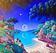 Bay of Dreams 1996 30x35  Original Painting by Jon Rattenbury - 0
