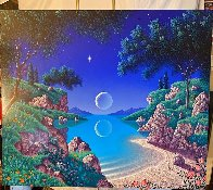 Bay of Dreams 1996 30x35  Original Painting by Jon Rattenbury - 1