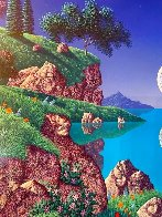 Bay of Dreams 1996 30x35  Original Painting by Jon Rattenbury - 3