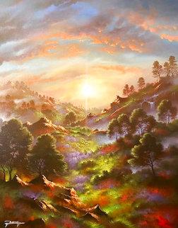 Guiding Light 28x22 Original Painting - Jon Rattenbury