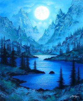 Sierra Moon 2005 Limited Edition Print by Jon Rattenbury